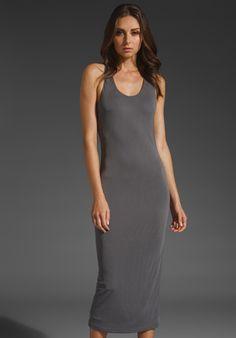 T by Alexander Wang crossback tank dress | reg. $325 , sale $88 | size m, l