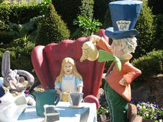 Mad Hatter Tea Party - Hunter Valley Gardens NSW