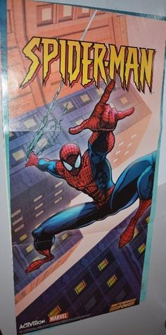 Spider-Man Snes Video Game Poster