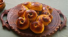 Sweedish Lucia bread/bun , Lussekatter . with saffron and cardemomme. so good