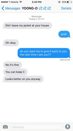Fake texts but cute texts