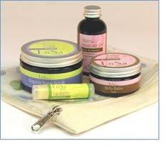 LüSa Organics A Mama is Born Gift Collection, a perfect gift for the expectant Mama!