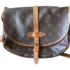 SOLD Authentic Louis Vuitton Samur 30 cross body Authentic bag. Well used and gently loved condition. The strap is dry and has cracks. Lots of life left. See additional listings for more photos. Louis Vuitton Bags Crossbody Bags