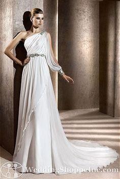 Pronovias Bridal Gown Baena - Visit Wedding Shoppe Inc. for designer bridal gowns, bridesmaid dresses, and much more at http://www.weddingshoppeinc.com
