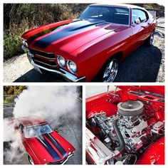 My dream Car! 1970 Chevelle SS! Burning out!