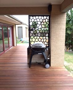 A Single Decorative Screen Can Make A Big Impact On A Patio And Give A New  Home Some Real Character And A Personal Touch. This Is QAQu0027s U0027Suvau0027 Design  Cut In ...
