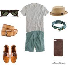 Menswear: Colored Khakis