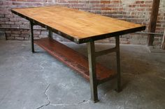All sizes | Vintage Work Table | Flickr - Photo Sharing!
