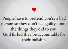 EXACTLY. People who hurt others hate when the people they hurt acknowledge and speak out about being victims of the hurt. Those who inflict pain hate feeling any guilt, so they prefer to call the victim of their  behavior the problem rather than acknowledge what they are doing.