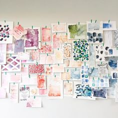 Such a creative bunch at my class tonight! Check out the work they posted to #watercolorLABmpls. @labmpls #maemaepaints