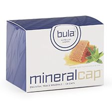 www.crystalwakaya.com  Mineral Bula Caps 64 ea. Minerals are the primary catalyst for health in the body. They are necessary to utilize vitamins, amino acids, and many other key nutrients. Unfortunately any trace minerals are less available today due to poor and over-farmed soils.   Mineral Caps have a taste you'll love and include Botanical Minerals™ to help your body repair, build and thrive!  DIRECTIONS: To be used with Bula Nutri-Cap Bottle. Twist off clear top from chamber. Insert Bula…
