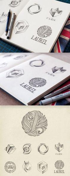Logo Design inspiration #create #inspire #motivate: