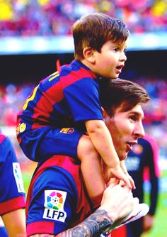 """marrymemessi: """"Lionel Messi and his best friend, Thiago. """""""