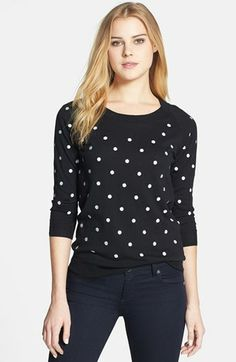 Pleione Dot Pullover available at #Nordstrom