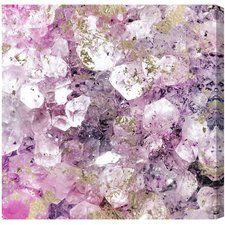 Crystal Romance Painting Print on Canvas