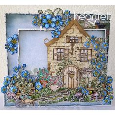 Heartfelt Creations - Sweet Cottage Scene Project