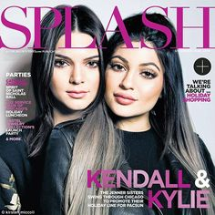 Making a Splash: The duo grace the cover of The Chicago Sun Times Splash magazine