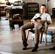 Inception (gif) I loved this lol too bad it doesn't show the look Arthur gives him after and the grin Eames returns haha