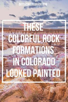 There's no shortage of wild wonders in Colorado and one of the most colorful in the state is the Paint Mines Interpretive Park. #OutThereColorado #Travel #Colorado #ColoradoVacation #ColoradoHiking #ColoradoThingsToDo #ColoradoHikes #Mountains #Adventure #ColoradoFall #ColoradoPhotography #ColoradoWildlife #Mountains #Explore #REI #optoutside #Hike #Explore #Vacation #USTravel
