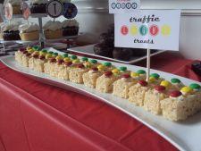 Race Car Party DIY Desserts traffic light treats