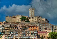 Palombara Sabina e il castello Savelli Torlonia