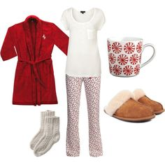 What to Wear on Christmas Morning - #2, created by kateanfinson on Polyvore