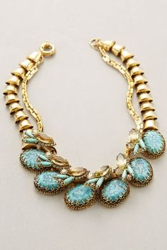 Winstone Bib Necklace #anthrofave