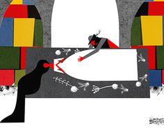 Romeo + Juliet - by Timbuktu  an interactive book interpretation of Shakespeare's play.