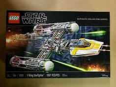 LEGO 75181 Star Wars Y-Wing Starfighter Kit (1967 Pieces) SEE DESCRIPTION Lego Sets, Star Wars History, Numbers For Kids, Star Wars Models, Star Wars Kylo Ren, Lego War, Geek Gear, The Empire Strikes Back, Lego Technic