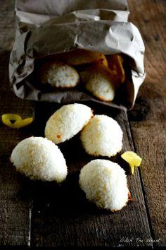 Lemon Coconut Macaroons #food #paleo #glutenfree