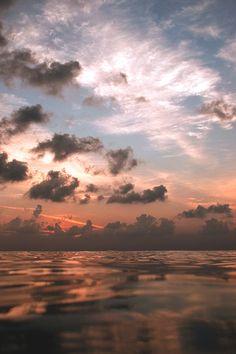 Sea sun sky