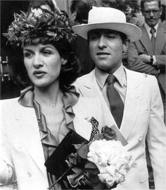 Paloma Picasso, in YSL, and Rafael Lopez-Sanchez wed in 1978 Ysl, Picasso Pictures, Fairytale Gown, French Fashion Designers, Black And White Pictures, 70s Fashion, Style Icons, Yves Saint Laurent, Dior