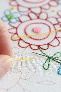 This woman's embroidery and applique are gorgeous!