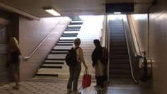 Un escalier transformé à Stockholm en piano géant