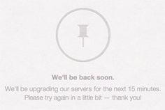 """Instagram war um 13:20 immer noch nicht erreichbar: Das Leben in der Cloud hat seine """"Ups"""" und """"Downs""""..."""