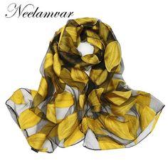 Neelamvar new 2017 brand scarf women's long shawl autumn and winter echarpe high-quality organza lady elegant hijab wraps