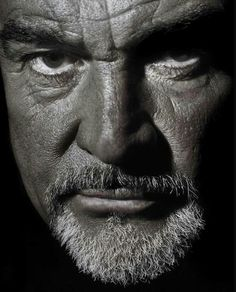 Thomas Sean Connery (born 25 August is a retired Scottish actor. Connery was the first actor to portray the character James Bond on… Sean Connery, Hollywood Actor, Old Hollywood, Goatee Beard, Scottish Actors, Foto Art, Celebrity Portraits, Black And White Portraits, Famous Faces