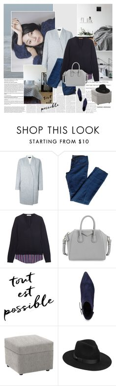 """""""Stay with me"""" by rainie-minnie ❤ liked on Polyvore featuring ADAM, rag & bone, J Brand, Altuzarra, Givenchy, VANELi, Lack of Color, SimpleStyle, minimalism and personalstyle"""