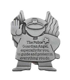 Police Guardian Angel Visor Clip (A cute gift from the kids, maybe. Police Girlfriend, Police Officer Wife, Police Wife Life, Police Family, Army Police, Police Gear, Firefighter Gifts, Gifts For Office, Cute Gifts
