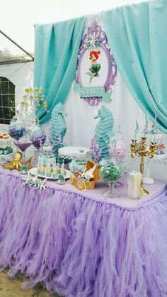 Mermaids Birthday Party Ideas | Photo 2 of 16