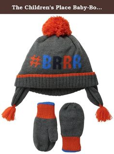 Kids' Clothing, Shoes & Accs Self-Conscious New The Childrens Place Orange Tiger Winter Knitted Hat Sz 12-24 Months 100% Original