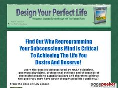 Design Your Perfect Life | Your Personal Agreement Check more at http://stuffeddaily.com/552