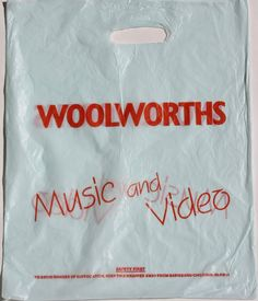 Woolworths Vinyl Store, Safety First, Looking Back, Paper Shopping Bag, Nostalgia, Snack Recipes, The Past, Google, Bags