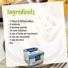 On a trouvé la recette idéale au Pavé d'Affinois Bleu pour faire du Blue Monday un jour délicieusement joyeux ! 😎 Personal Care, Instagram, Pear, D Day, Salad, Blue, Recipes, Self Care, Personal Hygiene