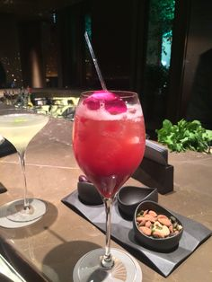 awesome cocktail at Mandarin Oriental Hotel