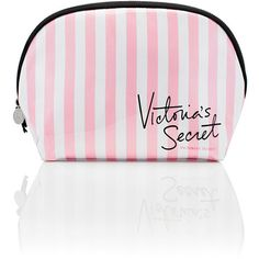Victoria's Secret Wedge Cosmetic Bag (815 DOP) ❤ liked on Polyvore featuring beauty products, beauty accessories, bags & cases, bags, beauty, makeup, cosmetic purse, dop kit, toiletry bag and victoria secret makeup bag