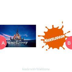 Disney or Nick shows Tap to vote http://sms.wishbo.ne/U1ak/7XMGyrttdt