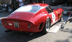 which won it's race later in the morning. Basic Italian, Red Heads, Gto, Vroom Vroom, Garages, Car Car, Supercars, Cars Motorcycles, Cool Cars