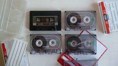 4 MAXELL cassettes / UD / 2x UR / 1x UR ORIGINAL / Leerkassetten