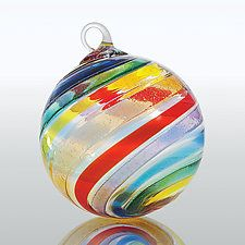 Over the Rainbow by Glass Eye Studio (Art Glass Ornament)